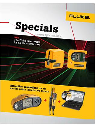 Fluke Specials leaflet