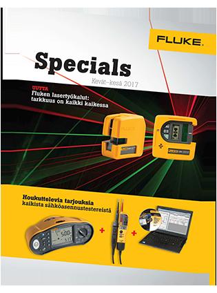 Fluke Specials -erikoistarjousesite